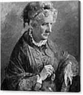 Harriet Beecher Stowe Canvas Print