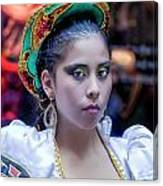 Hispanic Columbus Day Parade Nyc 11 9 11 Canvas Print