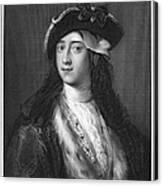 Horace Walpole (1717-1797) Canvas Print