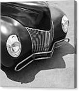 Hot Rod Front Canvas Print