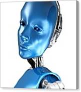 Humanoid Robot, Artwork Canvas Print