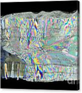 Icicle Cross Section Canvas Print