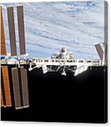 International Space Station Canvas Print