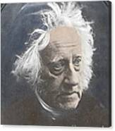 John Herschel, English Polymath Canvas Print