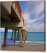 4- Juno Pier Canvas Print