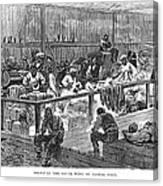 Kansas: Black Exodus, 1879 Canvas Print