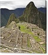 Machu Picchu, Peru Canvas Print