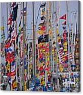 Mackinac Race Canvas Print