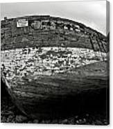Old Abandoned Ship Canvas Print
