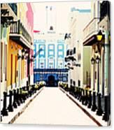 Old San Juan Puerto Rico Canvas Print