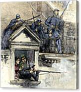 Paris Commune, 1871 Canvas Print