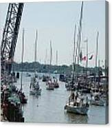 Port Huron To Mackinac Island Race Canvas Print