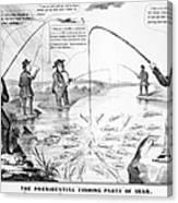 Presidential Campaign, 1848 Canvas Print