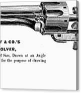 Revolver, 19th Century Canvas Print