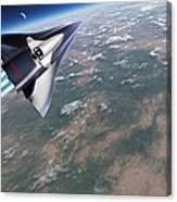 Saenger-horus Spaceplane, Artwork Canvas Print