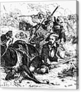 Sam Houston (1793-1863) Canvas Print