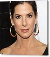 Sandra Bullock At Arrivals For The Canvas Print