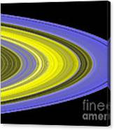Saturns Rings Canvas Print
