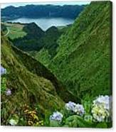 Sete Cidades - Azores Canvas Print