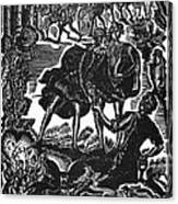 Shakespeare: Hamlet Canvas Print