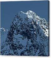 Tatra Mountains Winter Scenery Canvas Print