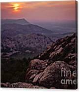 Wichita Mountains Canvas Print