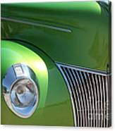 40 Ford - Front Pass Angle-8651 Canvas Print