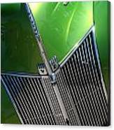 40 Ford - Grill Detail-8618 Canvas Print