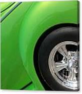 40 Ford-driver Rear Wheel-8581 Canvas Print