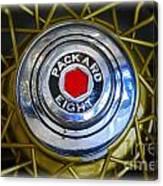 41 Packard Wheel Canvas Print