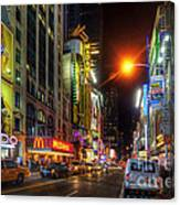 42nd Street Nyc 3.0 Canvas Print