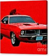 440 Charger Canvas Print
