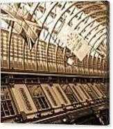 Leadenhall Market London Canvas Print