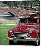 47 Olds Woody Canvas Print