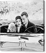 Silent Film Still: Couples Canvas Print