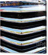 48 Chevy Convertible Grill Canvas Print