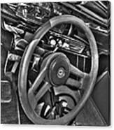 48 Chevy Convertible Interior Canvas Print