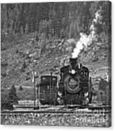 482 In Silverton - Bw Canvas Print
