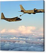 A Mc-130h Combat Talon II Canvas Print