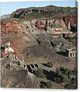 Abandoned Manganese Mine At Cape Vani Canvas Print