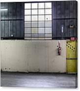 An Empty Industrial Building In Los Canvas Print