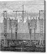 Brooklyn Bridge, 1870 Canvas Print