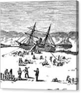 Charles Francis Hall Canvas Print