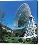 Effelsberg Radio Telescope Canvas Print