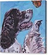 English Springer Spaniel Canvas Print