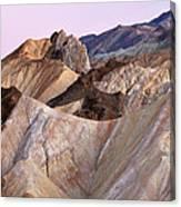 Golden Canyon Death Valley Canvas Print