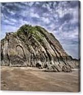 Goscar Rock Tenby Canvas Print