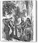 James Edward Oglethorpe Canvas Print
