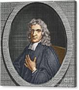 John Flamsteed, English Astronomer Canvas Print