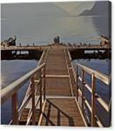 Lago Di Lugano Canvas Print